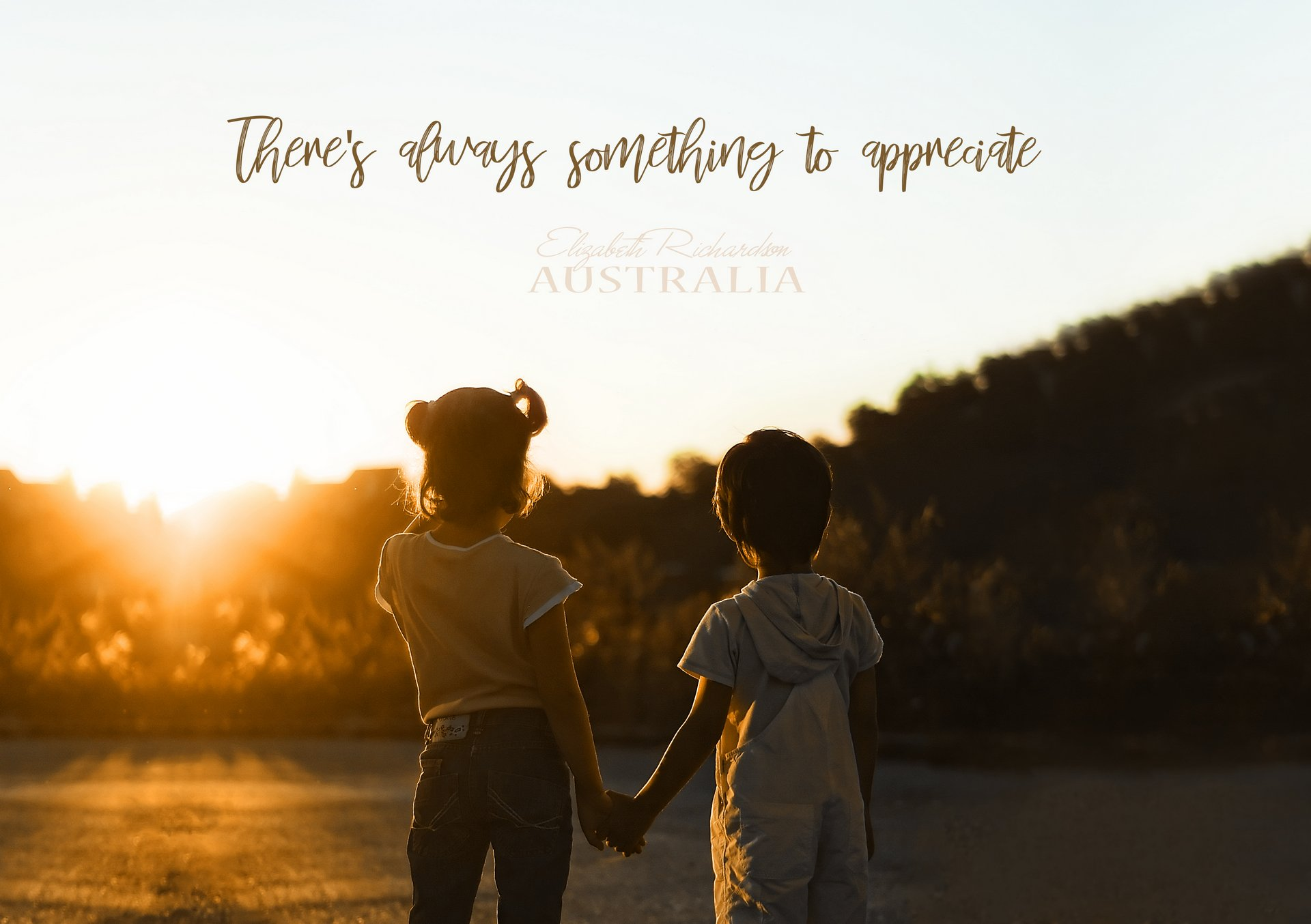 There is always something to appreciate POSTER