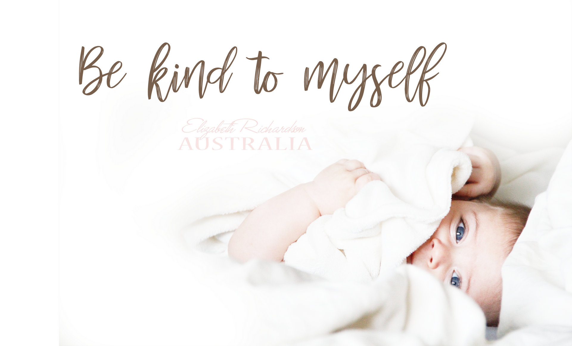 Be kind to myself POSTER